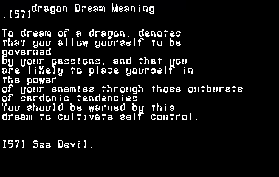 dream meanings dragon