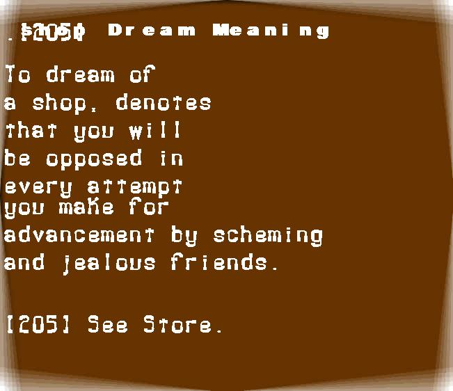 dream meanings shop